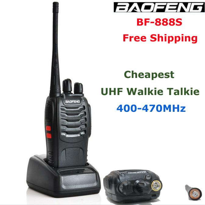 baofeng bf 888s cheapest uhf walkie talkie 400 470mhz loud. Black Bedroom Furniture Sets. Home Design Ideas