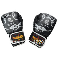 Wholesale High Quality oz boxing gloves training Grappling MMA gloves punch bag Black