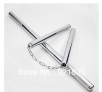 Wholesale High Quality nunchakus kung fu nunchucks stainless steel nunchakus Martial arts nunchaku free shiping