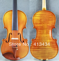 Wholesale Antique Oil Varnish Old spruce Concert Stradivari Violin M5334 One Pc Back