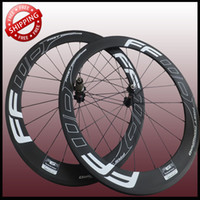 Cheap FFWD F6R 60mm clincher bicycle wheels freewheel Carbon fiber road and racing cycling wheelset