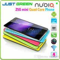 Cheap Hot!!! 13MP Camera ZTE Nubia Z5S mini Snapdragon 600 1.7GHz Quad Core 4.7 inch 720P OGS Android Phone