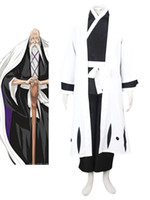 Wholesale Hot Sale Halloween Stylish Yamamotogenryuusai Shigekuni Cool Bleach Cosplay Costume sailor moon r60 u8 jLg