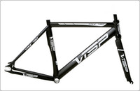 Wholesale 2014 Visp TRX790 Black red blue Track Bike Frame Fixed Gear Bicycle Parts CM