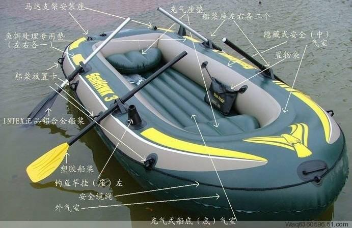 2018 rubber boats inflatable boat intex 68349 3 people for Cheap saltwater trolling motor