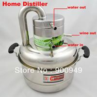 Wholesale 8 Liters Alcohol Wine Distiller Whisky Vodka Maker Home Brew liquor Distiller