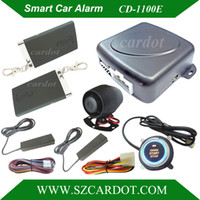 Wholesale Economical Smart Car Alarm hopping code car security system auto lock or unlock Passive keyless entry push button start stop