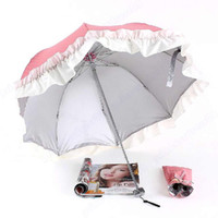 Wholesale 2013 New Fashion Women Lovely Arched Princess Lace Parasol Advertising Umbrella