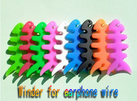 Wholesale multifuction colorful winder for earphone wire rope