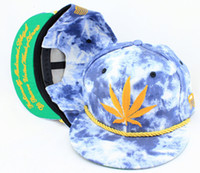 Wholesale Adjustable raiders Snapbacks carThe Blue Acid Wash Denim SNAPBACK Snapback TRUKFIT Hats Caps caps hip hop