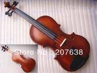 Wholesale Best Selling Adults Children Violin Beginner Violin Excluding Bows Matt white maroon
