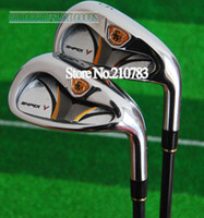 Wholesale 2013 New Sword Sniper V Golf Clubs irons set P S A pc Tour AD VI R graphite shaft