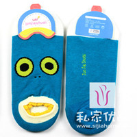 Cheap 2014 free shipping high quality socks free size leggings cotton bamboo new arrival --Japanese cartoon faces dental cotton socks shallow mou