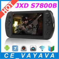 Wholesale Gamepad JXD S7800B inch Quad Core RK3188t GB RAM GB ROM Android HDMI Dual Camera Tablet PC Smart quad core Game Player