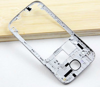 Wholesale For Galaxy S4 SIV GT I9500 I9505 I337 M919 Rear Housing Middle Frame Genuine New