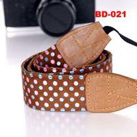 Wholesale Fabric DSLR Camera Neck Shoulder Strap Belt for Canon Nikon Olympus Panasonic E5036