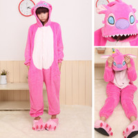 Wholesale DN Pink Rabbit Lovely Anime Costume Cartoon Sleepwear Unisex Made In China Good Quality Animal Cosplay Without Shoes