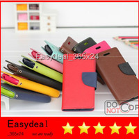 Best Cry Price Mercury Leather Cell Phone Cases For iPhone 4 4S 5 5S Samsung Galaxy S2 I9100 S3 I9300 S4 I9500 NOTE 2 N7100 Note 3 N9000 SONY