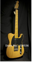 Wholesale CNew Arrival hot sell Limited Edition Telecaster Vintage Natural Electric Guitar