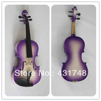 Cheap Free shipping Chinese colorful plywood violin children model student model violin
