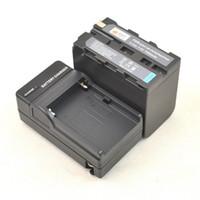 Wholesale DSTE NP F970 F950 Battery Charger For Sony HVL ML20 DCR TRV420 DSR DU1 Camera