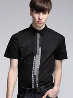 Cheap Stylish Pure Cotton Casual Shirt For Men silk shirts r93 #u10-1ofi