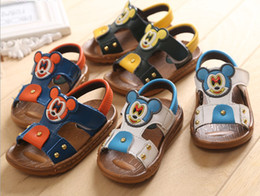 Wholesale Summer New children sandals chic bear baby shoes lovely yards kids sandals cartoon baby shoes toddler shoes pairs