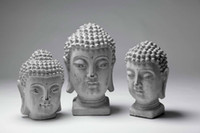 Cheap The new environmentally friendly cement material Chinese Buddha head ornaments Home Furniture accessories soft furnishings matching wh