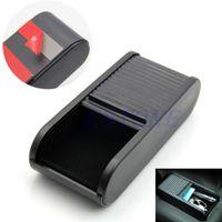 Cheap Car Rolls Plastic Pocket Telescopic Dash Coins Case Storage Box Holder Container