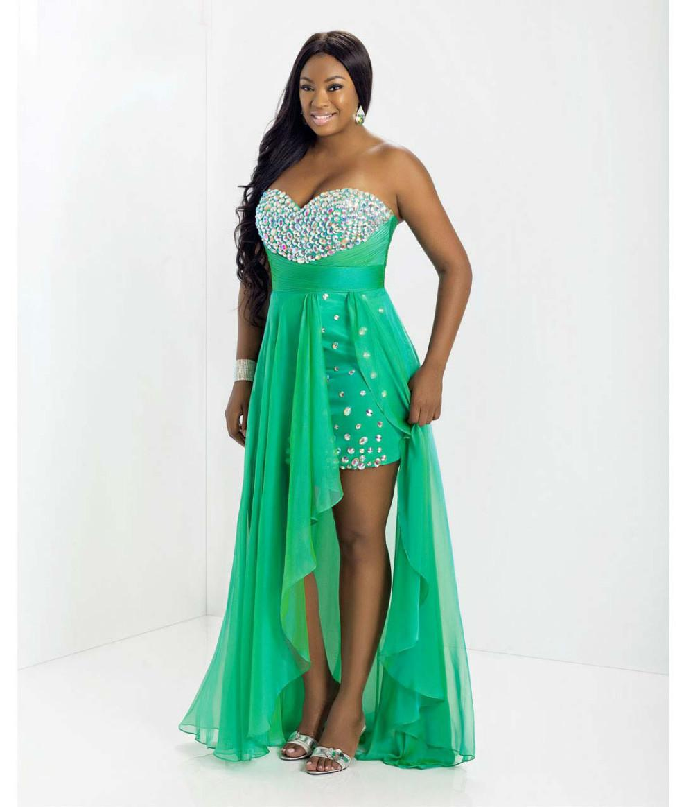 Awesome Cheap Prom Dresses For Plus Size Gallery - Styles & Ideas ...