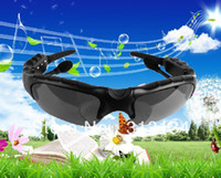 Wholesale Wireless Bluetooth Headset headphone Music Foldable Sunglasses Sun Glasses