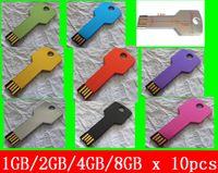 Wholesale 10pcs X gb gb gb gb key chain USB Drive USB HOT Sales Flash Drive High Quality Creative Style USB Drive Free Shipment