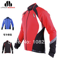 Wholesale SOBIKE WINDOUT Men s Winter Fleece Thermal Bike Bicycle Cycling Cycle Long Sleeve Jersey Jacket Aurora Color