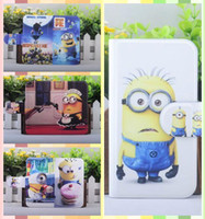 Wholesale For TCL S900 Hot movie Colorful Despicable me Design Magnetic leather flip PU case cover