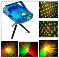 Wholesale hot selling mW mini Gree and Red Laser DJ Party Stage Lighting Light projector Part