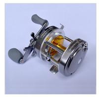 Cheap 2013 HOT SALE ! Free shipping,European Fishing Reel Bait Baitcasting, Right Hand One-way 5+1 ball bearings 340G 5.2:1