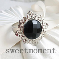 Cheap black napkin rings Best silver napkin rings