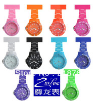 Cheap Pocket watch watch.Professional plastic nurses watch.Free shipping.new Style Hot japan movement