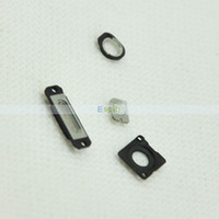 Cheap A Set of Accessories of Back Cover Including Earphone Jack Ring Bracket of Camera Lens The Flash Rear Jack for iPhone 5