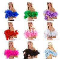 Valentine's Day,party, Wedding,etc feather boa - 2M g Thicken Feather Boa DIY for Party Wedding Festival