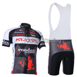 2011 KUOTA Team Frog Black Short Sleeve Cycling Jersey + Bib Short K065