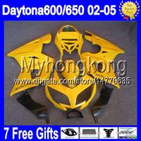 triumph - 7gifts Body Gloss yellow For Triumph Daytona Daytona650 Y Daytona all yellow Fairing