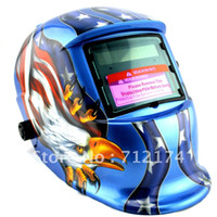 Wholesale Eagle Flag Solar Auto Darkening Welding Helmet Fast Responds grinding helmet
