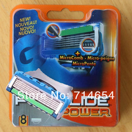 Wholesale pieces Fus_on Proglide Power S Men s Razor Blades High Quality Blade Grade AAA Standard for RU amp Euro