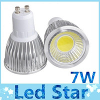 Wholesale High Power GU10 E27 MR16 LED W COB Spotlight Bulb Lamp Warm Natural Cool White