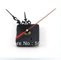 Cheap DIY Quartz Clock Movement Kit Spindle Mechanism shaft 13mm with Hands free shipping by CHINAPOST