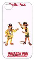 chicken run - The Clay Animation film Chicken Run printed design Case for iPhone S TPU Laser Technology xj0005 white