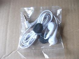 Wholesale Disposable earbuds bulk earphones low cost earbuds Earbud headphone manufacture