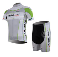 Short Anti Bacterial Unisex 2013 new NALINI white and green jersey short sleeve cycling jersey suit quick-drying clothes pants-short pants