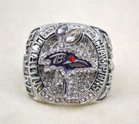 Wholesale Hot selling Ravens champion rings Super Bowl Championship ring US best gift for fans collection High Quality rings fashion souvenirs